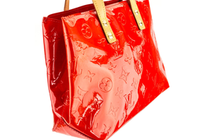 """Red Monogram Vernis Reade PM Tote Bag"" (5161428516999)"