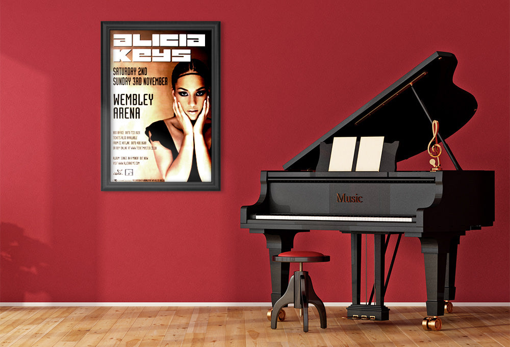 Alicia Keys poster - Live at Wembley