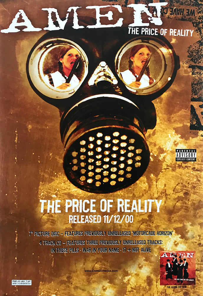 Amen poster - The Price of Reality