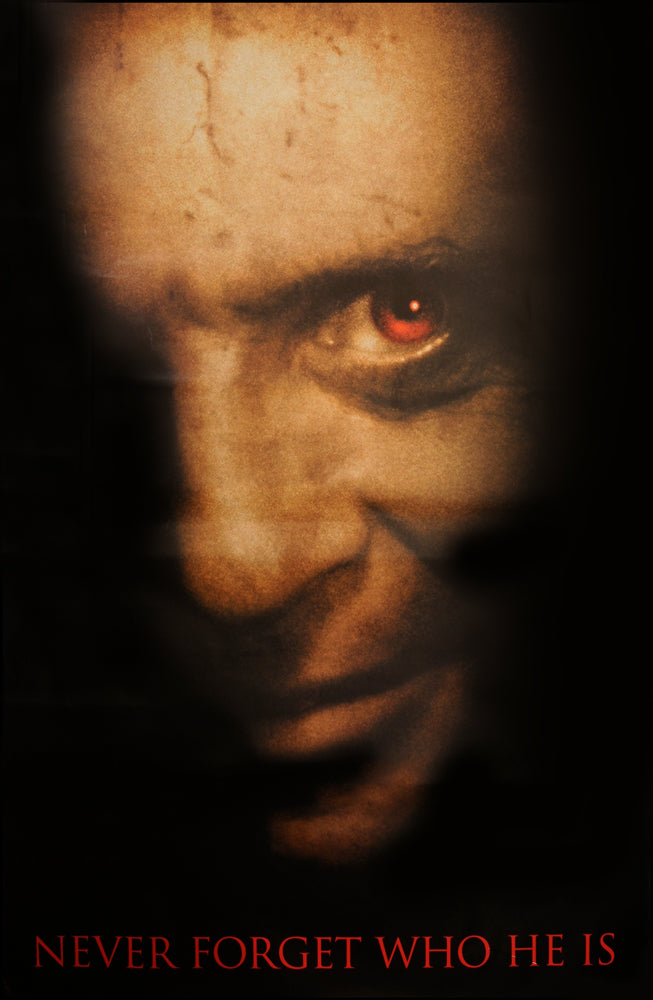 Hannibal teaser poster - rare and collectible
