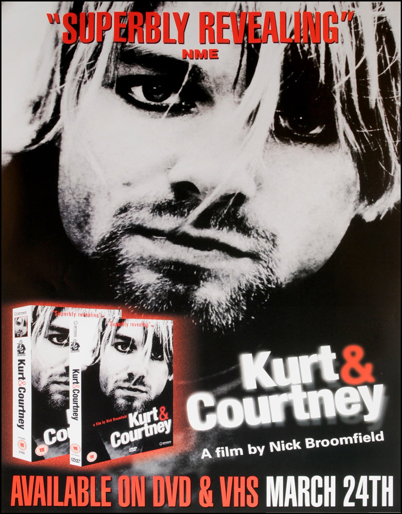 Kurt and Courtney poster