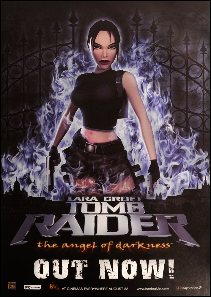 Tomb Raider poster - Angel of Darkness