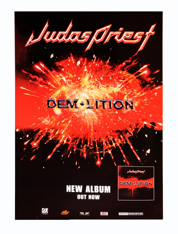 Judas Priest poster - Demolition