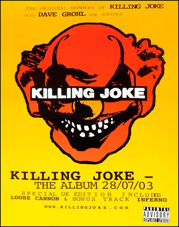 Killing Joke poster - Album
