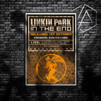 Linkin Park poster display board - In the end