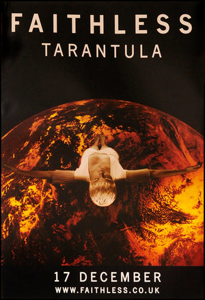 Faithless poster - Tarantula. Original