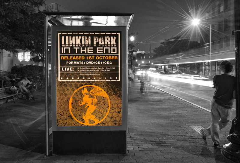 Linkin Park poster - In the end - Large Adshel format