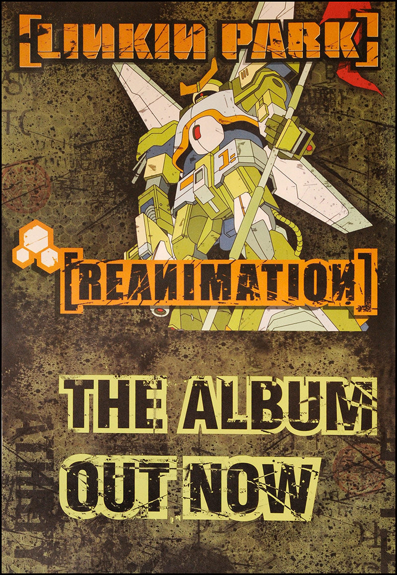 Linkin Park poster - Reanimation