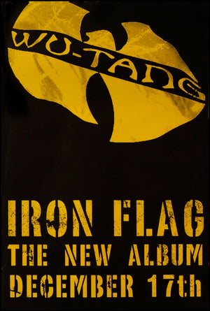 Wu-Tang Clan poster - Iron Flag
