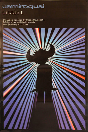 "Jamiroquai poster - Little L. Original Large 60"" x 40"""
