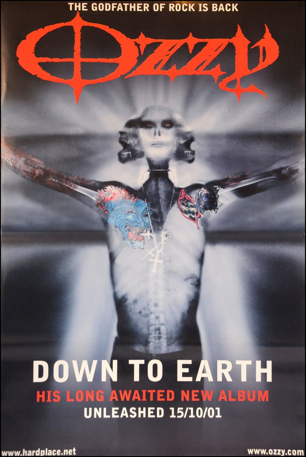 Ozzy Osbourne poster - Down to Earth