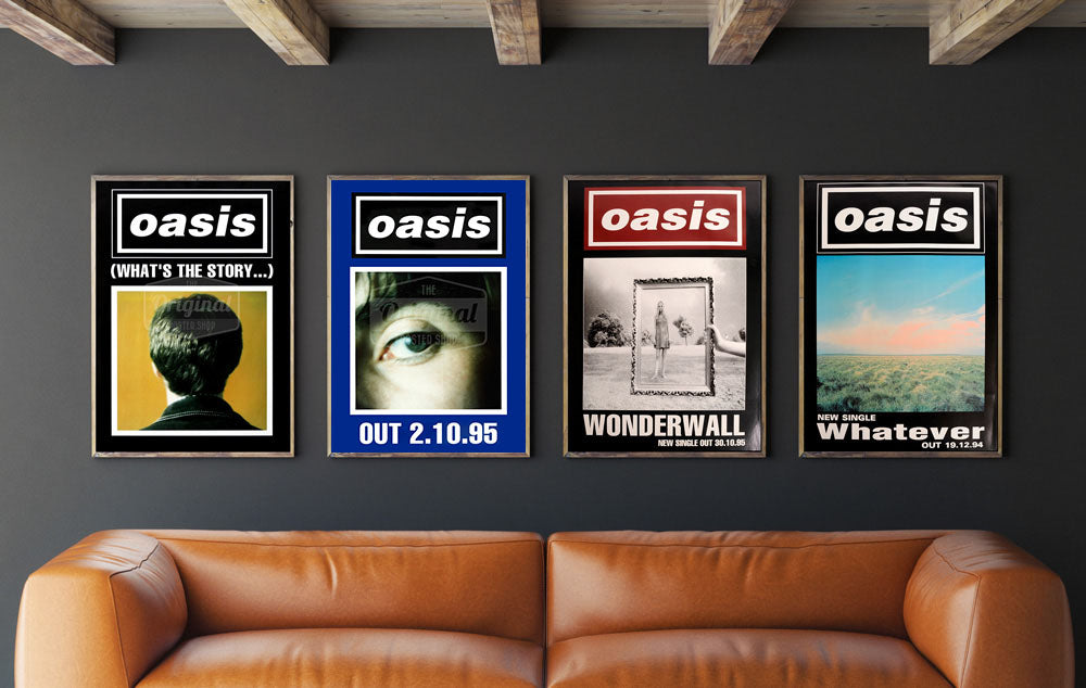 Oasis posters-Collectors set 1. Original