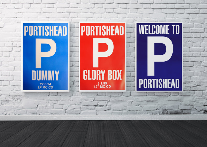 Portishead posters - Original Collectors Set