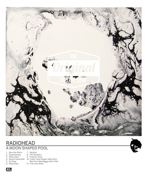 Radiohead poster - A Moon Shaped Pool (1st Generation Reprint)