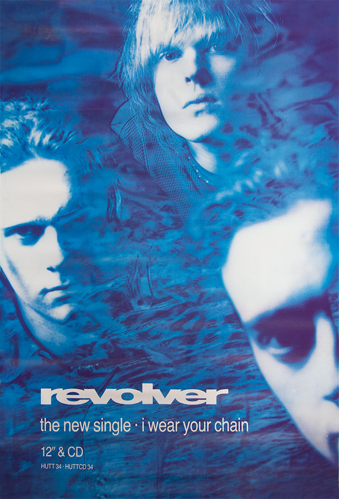 Revolver poster - I wear your chain - Large Adshel format Copy
