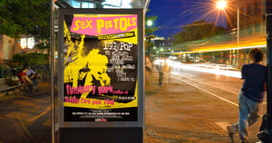 "Sex Pistols Poster - The Filthy Lucre tour. Original 60""x40"""