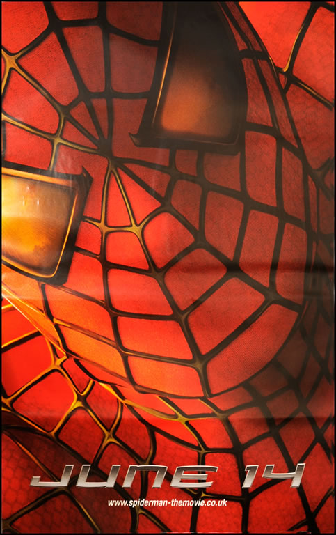 "Spider-Man movie poster - Original 60"" x 40"" size"