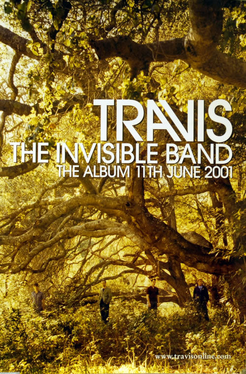 Travis poster - The Invisible Band