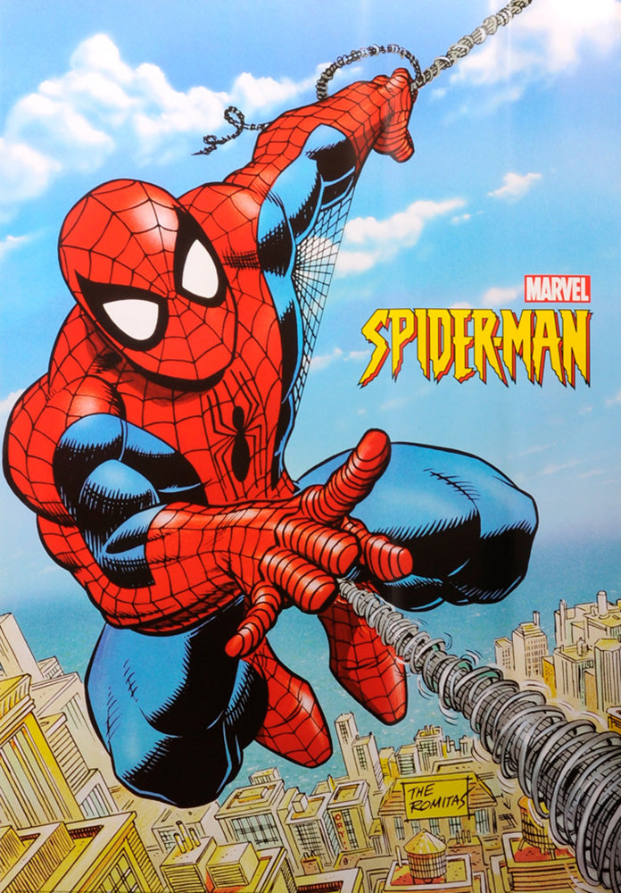 Spider-Man poster by Stan Lee-Marvel. Original