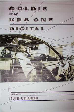 Goldie ft. KRS One poster - Digital