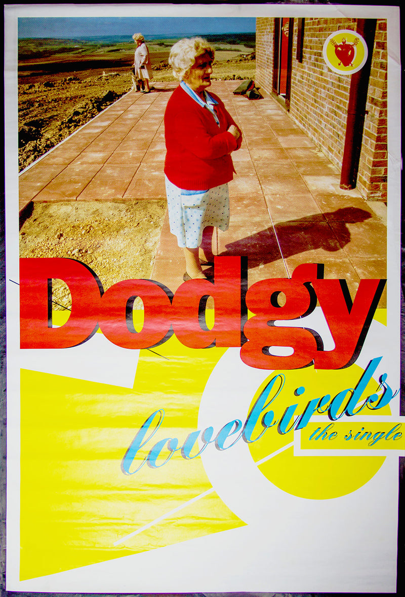 "Dodgy poster - Lovebirds. Original 60""x40"""