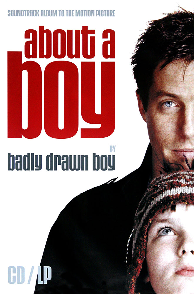About a Boy - by Badly Drawn Boy original poster