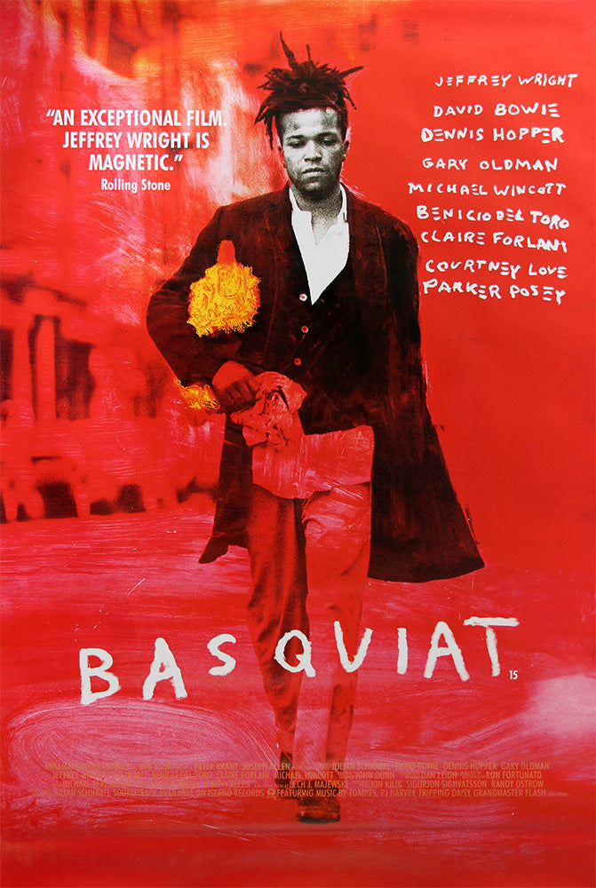 Basquiat - Original film poster starring David Bowie