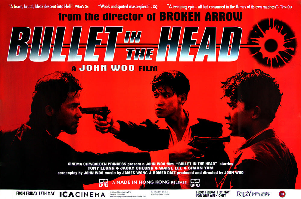 Bullet in the Head poster - John Woo
