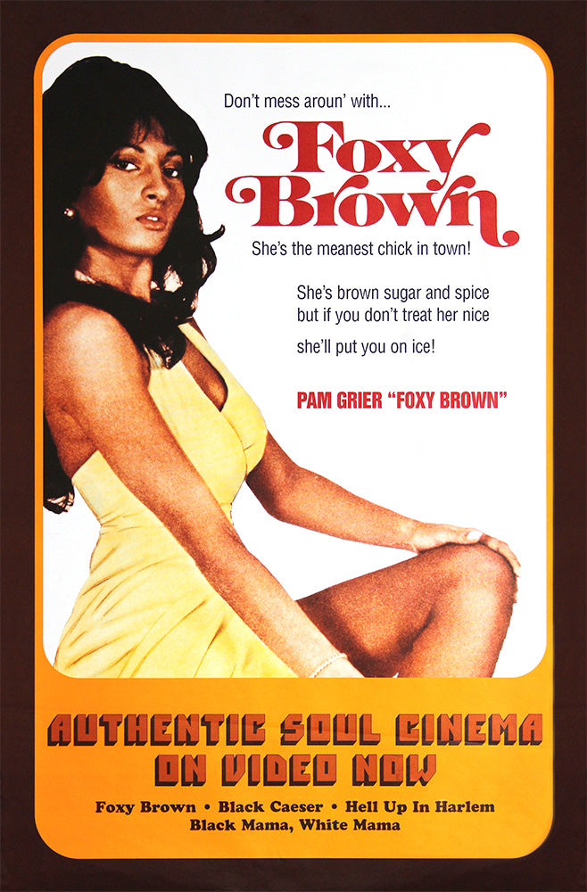 Foxy Brown poster. Original