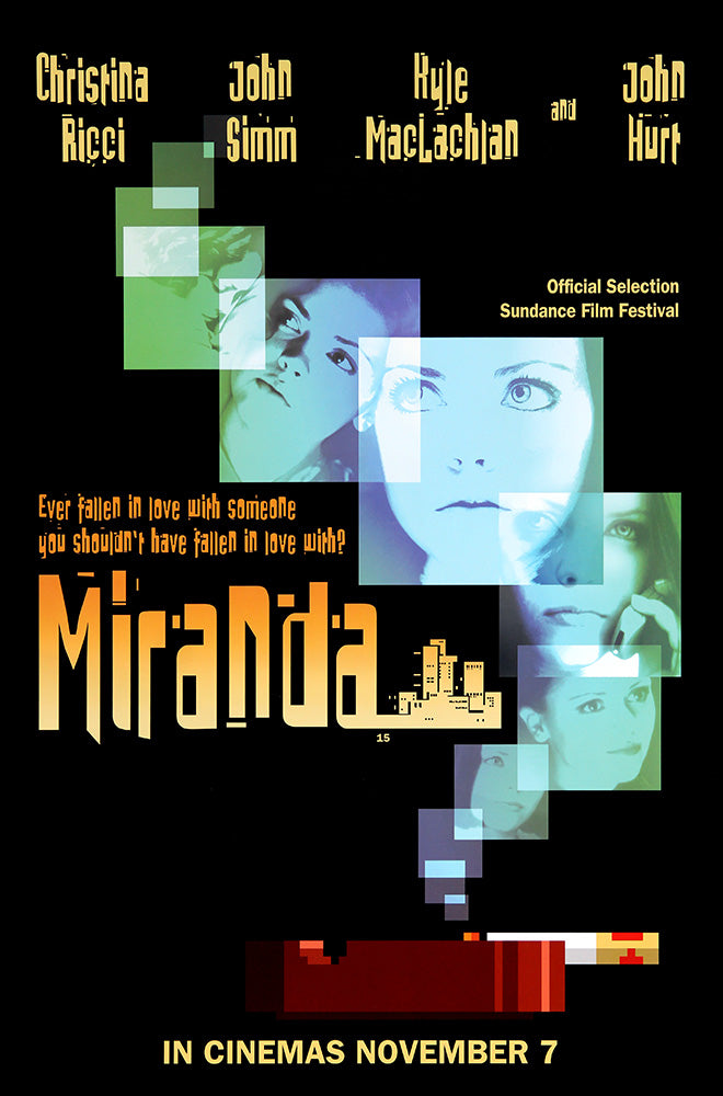 Miranda poster – Starring Christina Ricci and John Hurt