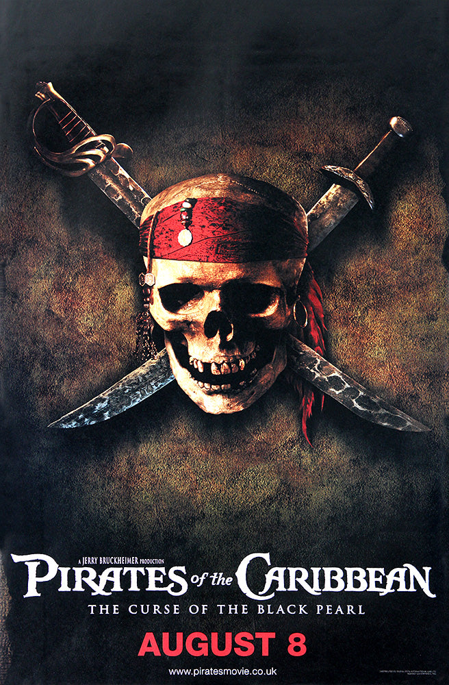 Pirates of the Caribbean poster - The Curse of the Black Pearl