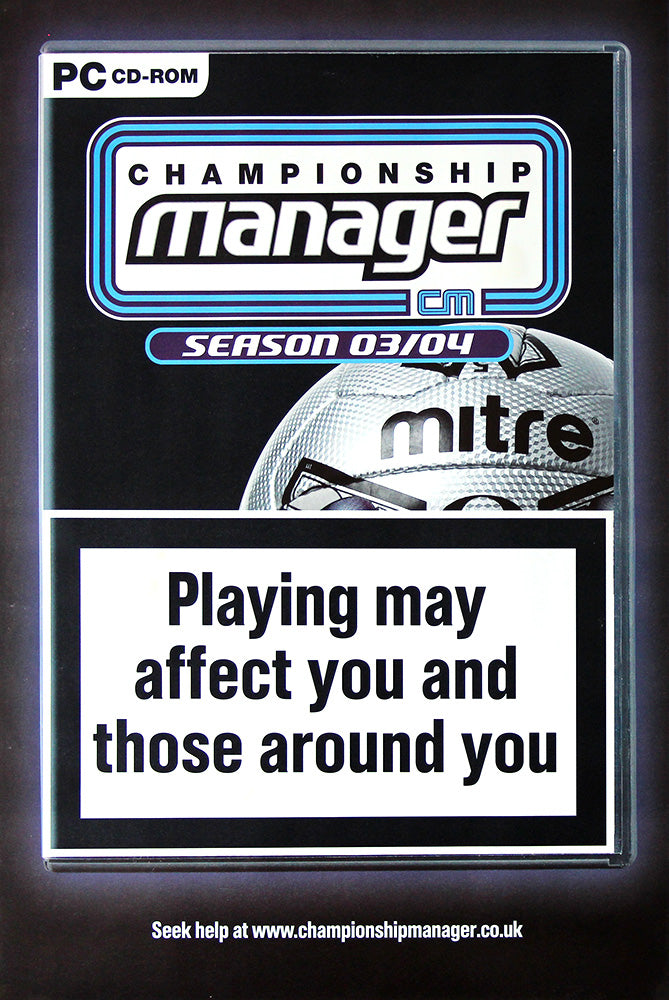 Championship Manager poster - Sports Interactive