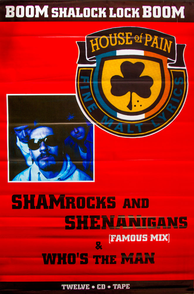 House of Pain poster - Shamrocks and Shenanigans