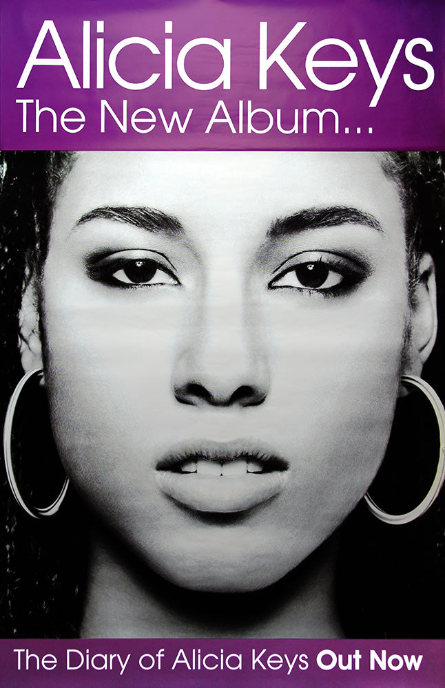 Alicia Keys poster - The Diary of Alicia Keys