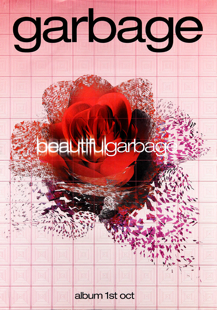 Garbage poster - Beautiful Garbage. Original