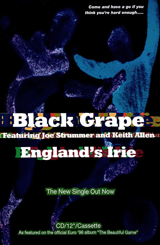 Black Grape poster – England's Irie
