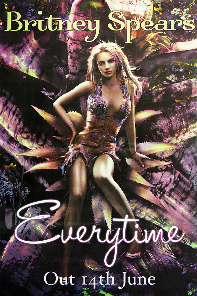 Britney Spears poster - Everytime