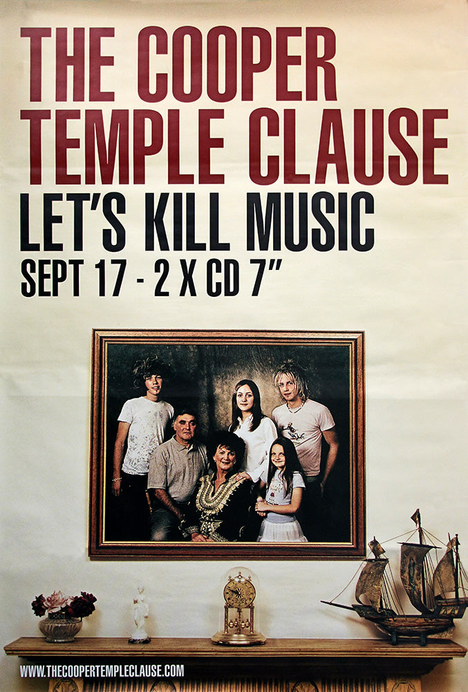 The Cooper Template Clause poster – Lets Kill Music