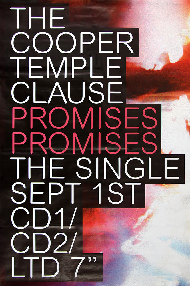 The Cooper Temple Clause poster - Promises Promises