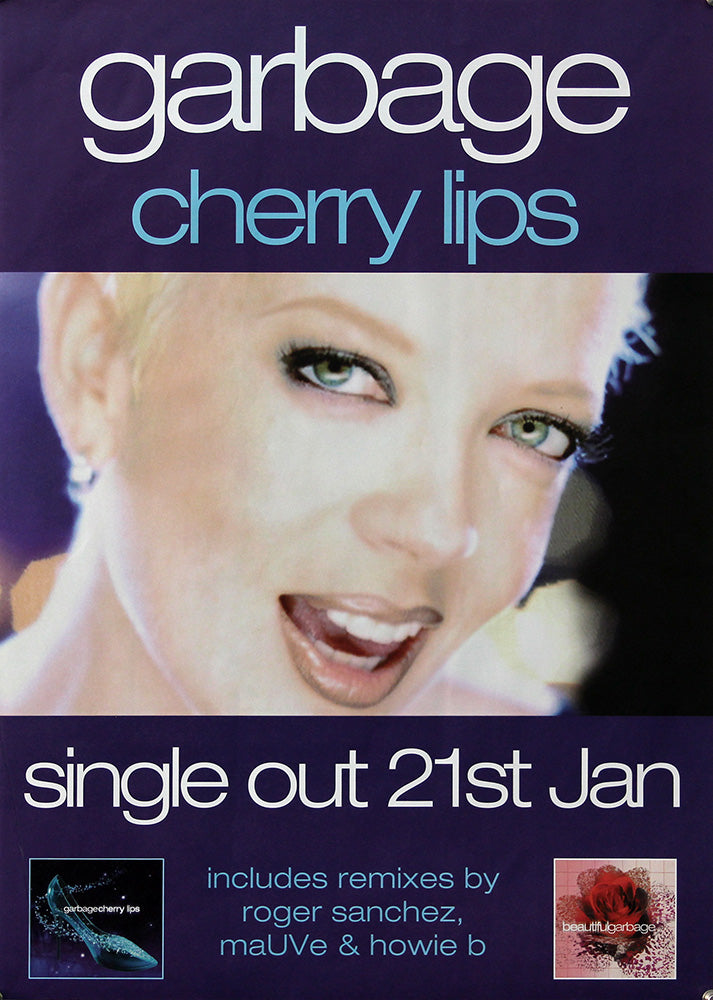 Garbage poster - Cherry Lips