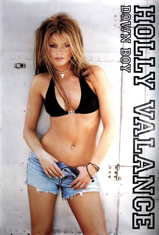 Holly Valance poster - Down boy