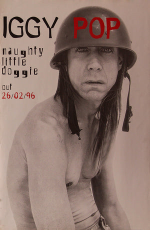 Iggy Pop poster - Naughty Little Doggie. Original