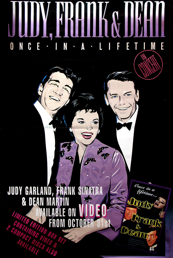 Judy, Frank and Dean poster - Once in a Lifetime