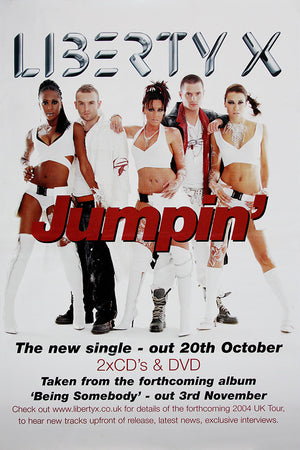Liberty X poster - Jumpin'
