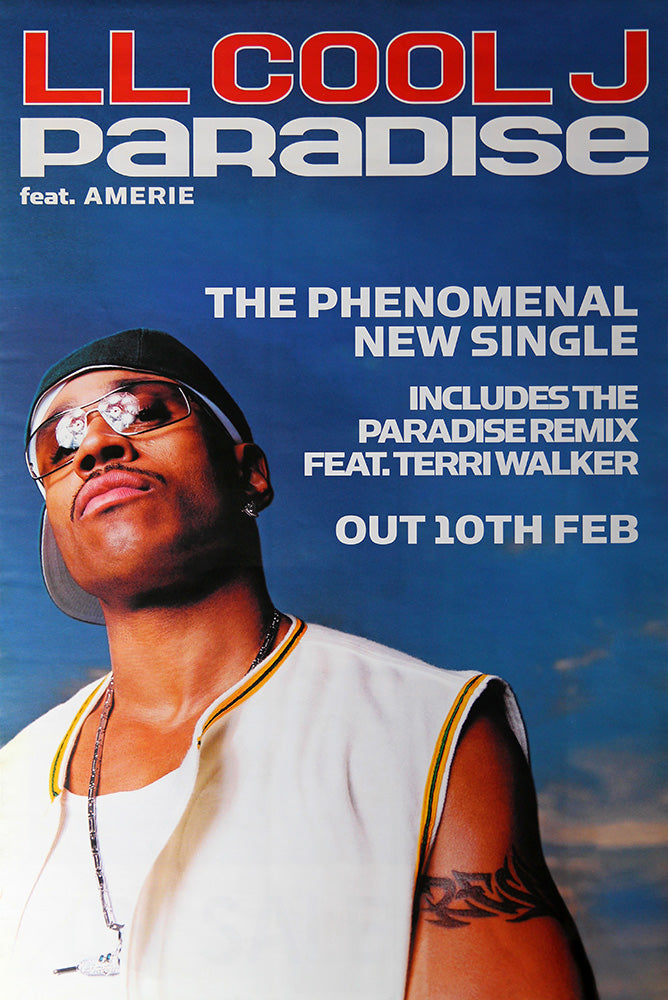 LL Cool J poster – Paradise