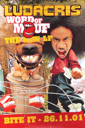 Ludacris poster - Word of Mouf