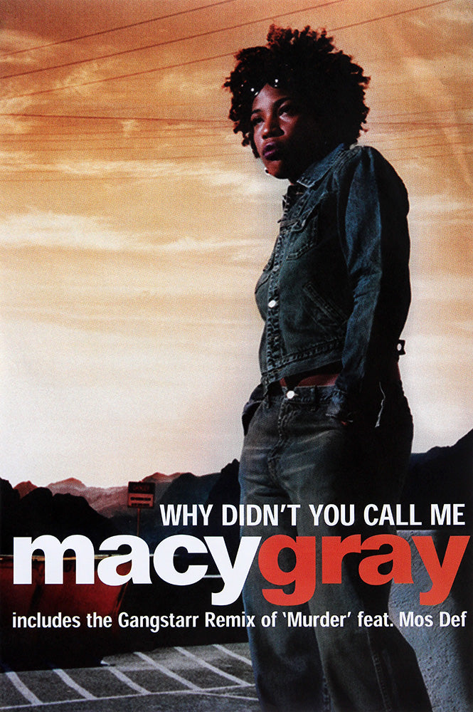 Macy Gray poster - Why Didn't You Call Me