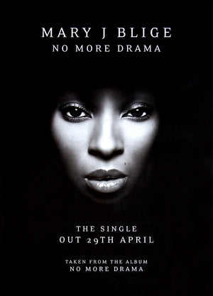 Mary J Blige poster - No More Drama