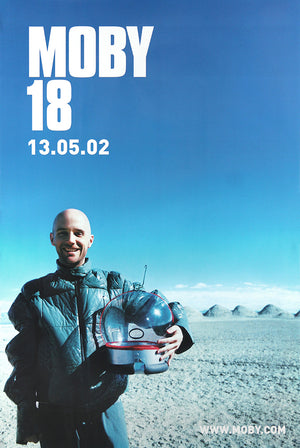 Moby poster - 18. Original