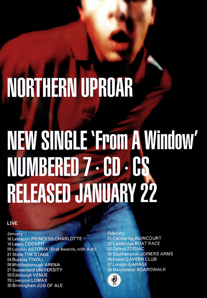 Northern Uproar poster – From a Window